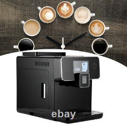 1500W FullAutomatic Coffee Machine Intelligent Touch Screen Home Commercial Use