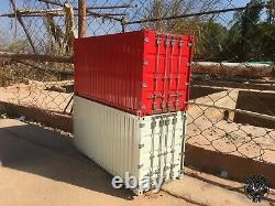 1/14 Full Metal 20' Shipping Container RTR for Tamiya 1/14 RC Tractor Trailer