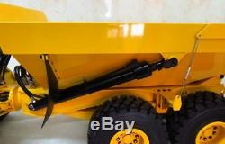 1/14 Scale FULL METAL VOLVO A40G Hydraulic ARTICULATED Dump Truck RTR