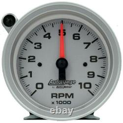 Auto Meter Tachometer Gauge 233909 Auto Gage 0-10000 3-3/4 Full Sweep Electric