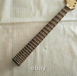 Best 24 Fret Reverse big head Maple Rosewood Full scalloped Electric Guitar Neck