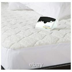 Biddeford Quilted Sherpa Electric Heated Mattress Pad Twin Full Queen King CalKg