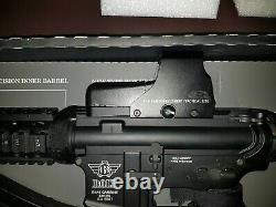 Bolt B4 sopmod shorty airsoft rifle electric full metal. Upgraded red dot sights