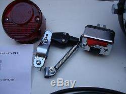 Bultaco Sherpa Full Electric Lights Parts New Headlight+pilot+switch+ All New