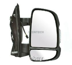 CITROEN RELAY Full Door Wing Mirror ELECTRIC HEATED SHORT Arm Right O/S 06 On UK