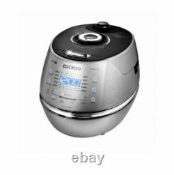 CUCKOO DHXB0610FS IH Electr Pressure Rice Cooker Full Stainless 6 Cups 220V