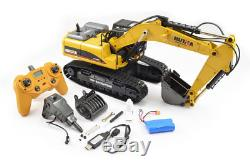 CY1580 Huina 1/14 23Ch Full Metal Excavator 2.4Ghz, V2 RC JCB Style Digger