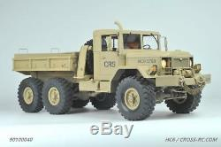 Cross RC HC6 1/12 Off Road Military Truck Kit 6X6 with Full Interior & 2 Spd Trans