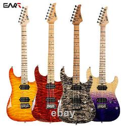 EART 6 String Solid-Body Electric Guitar, Right, Full -Maple Fingerboard