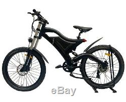 EBike Mountain Bike Full Suspension 250W 36V Electric 10.4Ah Max Speed 40kph Mac