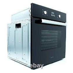 ElectriQ 65 litre 9 Function Full Fan Electric Single Oven Supplied with a plu