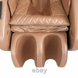 Electric Compact Full Body Massage Chair Bend (in blue-brown)