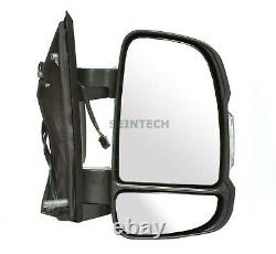 Fiat Ducato Full Door Wing Mirror ELECTRIC HEATED SHORT Arm Right O/S 2006 On UK