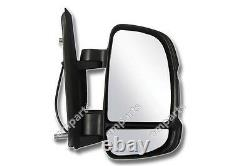 Fiat Ducato Full Door Wing Mirror ELECTRIC HEATED Short Arm Right O/S 2006 On