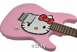 Fishbone Pink Kitty Full Size Guitar with Gig Bag
