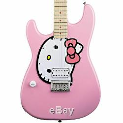 Fishbone Pink Kitty Left Handed Full Size Guitar with Gig Bag