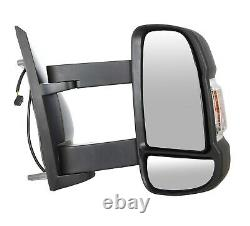 Fit Citroen Relay 2006+ Full Door Wing Mirror ELECTRIC HEATED Long Arm Right O/S