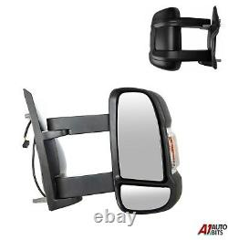 Fit Fiat Ducato 2006+ Full Door Wing Mirror ELECTRIC HEATED Long Arm Right O/S