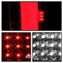 For 07-13 Chevy Silverado OLED Tube Red Full LED Sequential Tail Signal Light