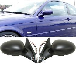 For BMW E46 Coupe / Cabrio M3 Mirrors. Folding (Electrical) Complete full set