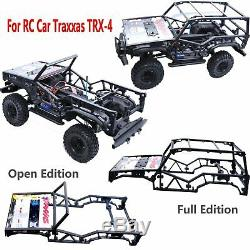 For Traxxas TRX-4 T4 RC Car Handwork Frame Protective Shell Body Roll Cage DIY