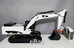 Full Metal 112 scale Hydraulic Excavator 6 ch Radio + extra optional parts RTR