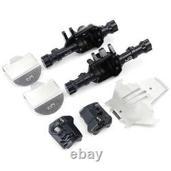 Full Metal Axle Housing Upgrade Set For Traxxas TRX-4 Front & Rear diffs + skids