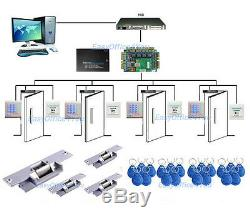 Full RFID Access Control Kit Set With Electric Strike Door Lock High Quality NEW