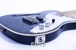 Grote Electric Guitar Semi-Hollow Body Single F-Hole Tele Style Guitar Full-Size