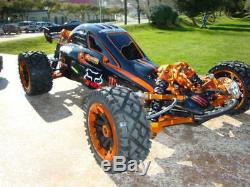 HPI Baja 5B body model Baja 5B-G Evo2 full covered GraFil body
