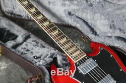 Hot Sell SG Standard Electric Guitar Red Color Full Pickguard