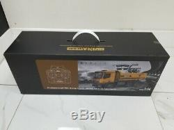 Huina 1582 10-Channel RC Full Metal Dump Truck 114 Scale