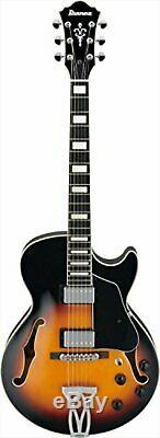 Ibanez / Ibanez full-Hollow Electric Guitar AG75-BS with bag F/S withTracking# NEW