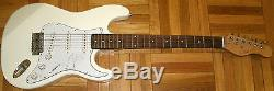 Jake Bugg Signed Rare Uk Autograph Full Size New White Electric Guitar With Coa