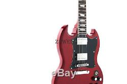 Lp SG Electric Guitar SG 400 Full Pickguard Heritage Cherry Alnico Pickups