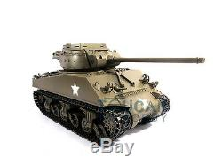 Mato 1/16 Full Metal RC Tank M36B1 RTR Destroyer Infrared Recoil Army Green 1231