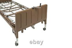 NEW 15005LP-FRPKG Drive Medical Full Electric Low Height Bed with MATTRESS