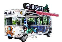 NEW Electric Fast Food Truck Van with FULL Equipment