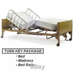 NEW Full Electric Hospital Bed Package Includes (Free Mattress and Rails!) FREE