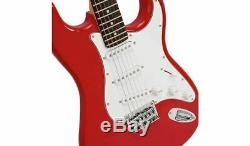 NEW Squier by Fender Full Size Electric Guitar Red + WARRANTY