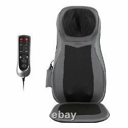 Naipo Electric Shiatsu Full Neck and Back Massagers Roller Chair with Heat