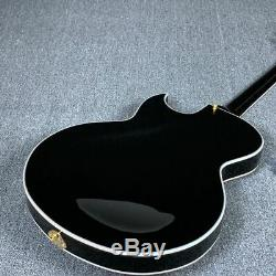 New Full Hollow Body Electric Guitar Style Grover Tuner Gold Hardware
