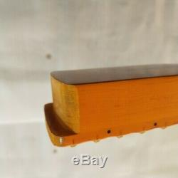 New Full scalloped Guitar Neck 22 Fret Maple Wood for Electric Guitar replace