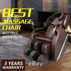 New Leather Deep Tissue Full Body Electric Massage Chair Recliner withHeat