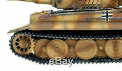 New Taigen Hand Painted RC Tank Full Metal Upgrade Version Tiger Camo RTR 2.4GHz