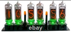 Nixie Clock IN-14 Kit (no tubes) Arduino Open Source with Removable Tubes Rev3