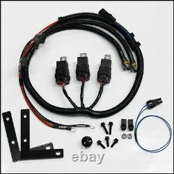 PCM of NC 2003-2007 Full Size Truck Three Relay Dual Electric Fan Kit