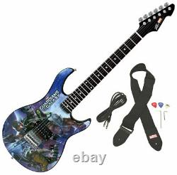 Peavey Rockmaster Full Size Marvel Guardians Of The Galaxy Electric Guitar New