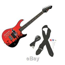 Peavey Rockmaster Full Size The Walking Dead Grave Digger Rick Electric Guitar
