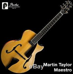 Peerless Martin Taylor Signature Maestro Full Hollow Body Archtop Jazz Guitar